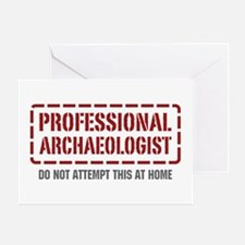 Professional Archaeologist Greeting Card