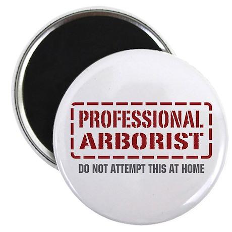 Professional Arborist Magnet