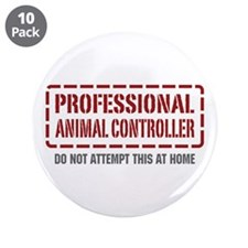 """Professional Animal Controller 3.5"""" Button (10 pac"""