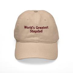 World's Greatest Stepdad Baseball Cap