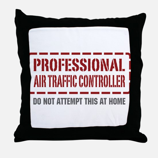 Professional Air Traffic Controller Throw Pillow