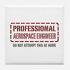 Professional Aerospace Engineer Tile Coaster