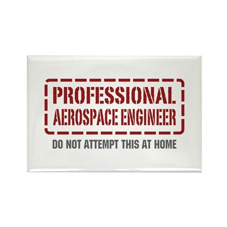 Professional Aerospace Engineer Rectangle Magnet (