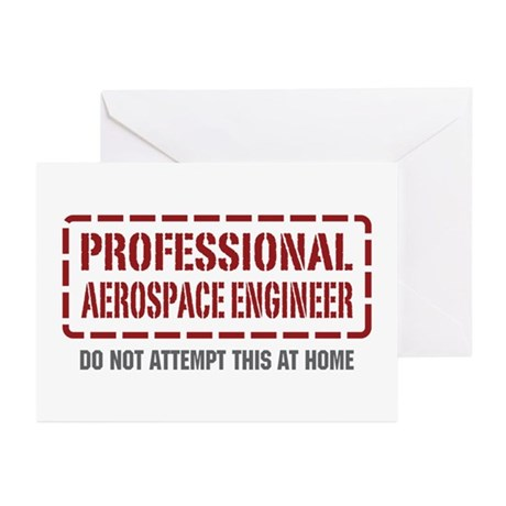 Professional Aerospace Engineer Greeting Cards (Pk