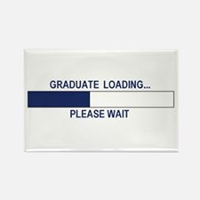GRADUATE LOADING... Rectangle Magnet (100 pack)