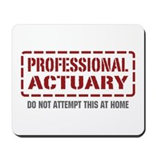 Professional Actuary Mousepad
