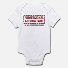 Professional Accountant Infant Bodysuit