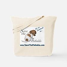Cute Piebald dachshund Tote Bag