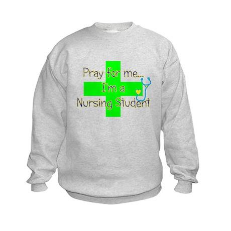 STUDENT NURSE III Kids Sweatshirt