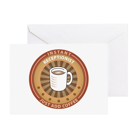 Instant Receptionist Greeting Card