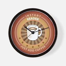 Instant Reader Wall Clock