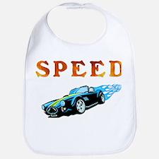Speed Cars Bib