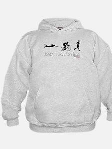 Triathlon Daddy's Transition Team Hoodie