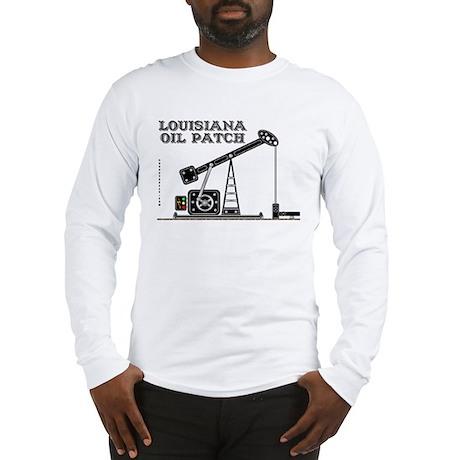 Louisiana Oil Patch Long Sleeve T-Shirt