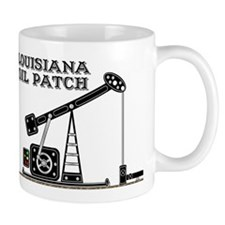 Louisiana Oil Patch Small Mug