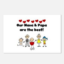 FAMILY STICK FIGURES Postcards (Package of 8)