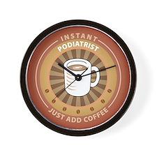 Instant Podiatrist Wall Clock