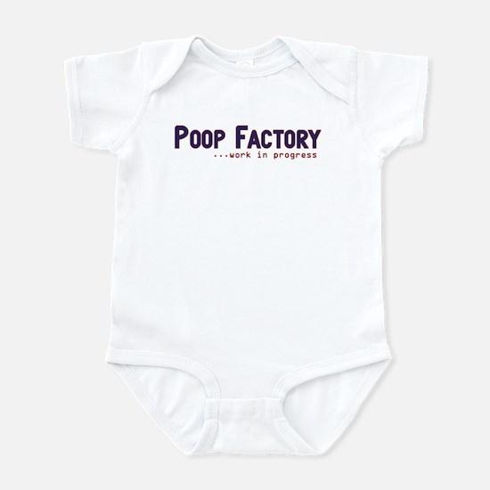 Poop Factory Infant Bodysuit
