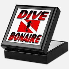 Dive Bonaire (red) Keepsake Box