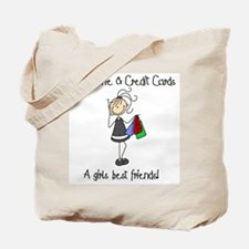 Girls Best Friends Tote Bag