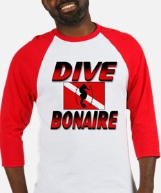 Dive Bonaire (red) Baseball Jersey
