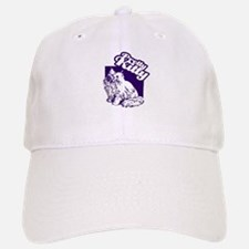 Retro Pretty Kitty Baseball Baseball Cap