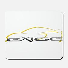 Exige Outline Yellow Mousepad