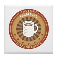 Instant Paralegal Tile Coaster