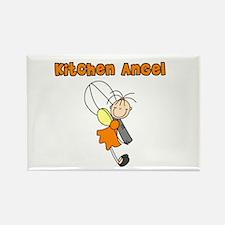 Kitchen Angel Rectangle Magnet