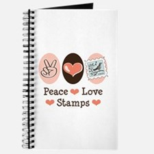 Peace Love Stamps Journal
