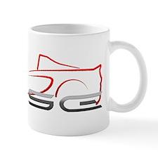 Elise Outline Red Mug