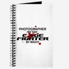 Photographer Cage Fighter by Night Journal