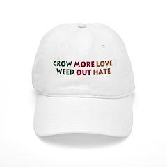 Grow More Love Baseball Cap