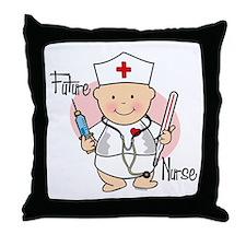 Future Nurse Throw Pillow