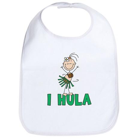 I Hula Bib