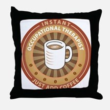 Instant Occupational Therapist Throw Pillow