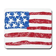 Grungy Flag Mousepad