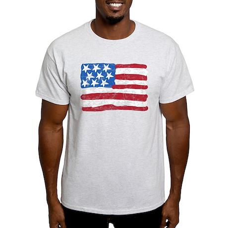 Grungy Flag Light T-Shirt