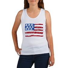 Grungy Flag Women's Tank Top