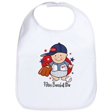 Future Baseball Star Bib