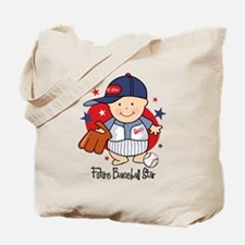 Future Baseball Star Tote Bag