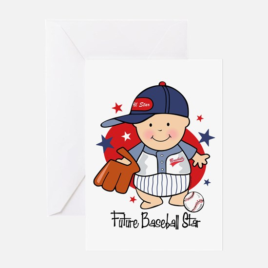 Future Baseball Star Greeting Card