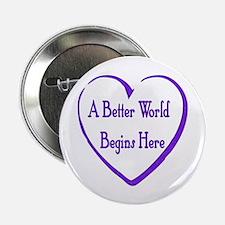 """Better World 2.25"""" Button (10 pack)"""