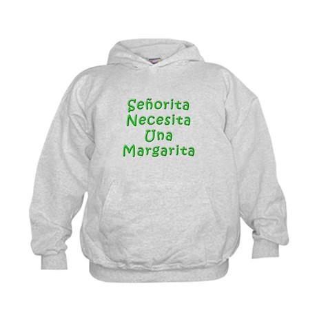 Senorita Margarita Kids Hoodie