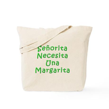 Senorita Margarita Tote Bag