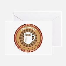 Instant Numismatist Greeting Card