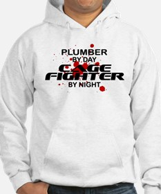 Plumber Cage Fighter by Night Hoodie