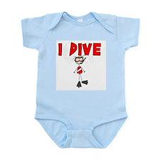 I Dive Infant Bodysuit