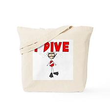 I Dive Tote Bag