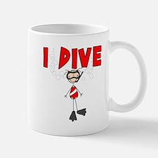 I Dive Mug
